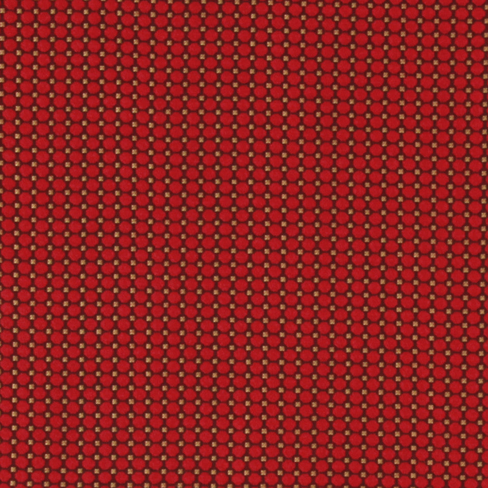 LACQUER RED Backspin Fabric - Lacquer Red