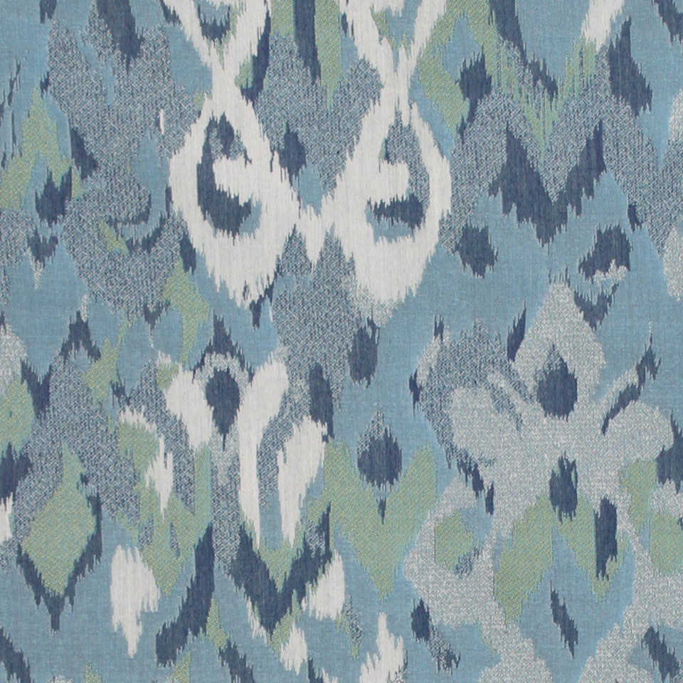Ikat Mingle Fabric - Rain