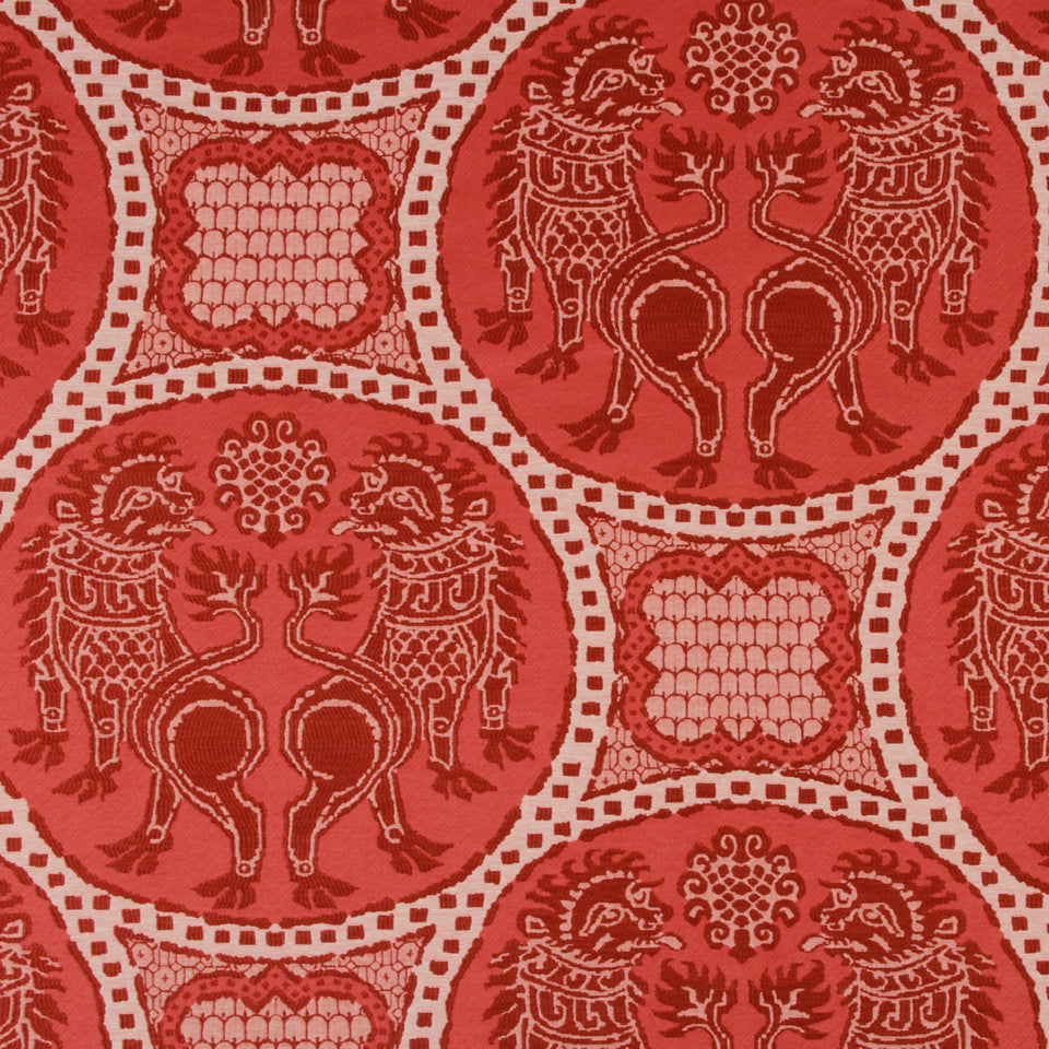 LACQUER RED Mitaka Fabric - Lacquer Red