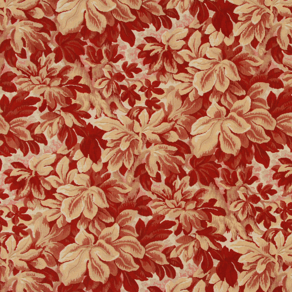 LACQUER RED Vineyard Haven Fabric - Lacquer Red