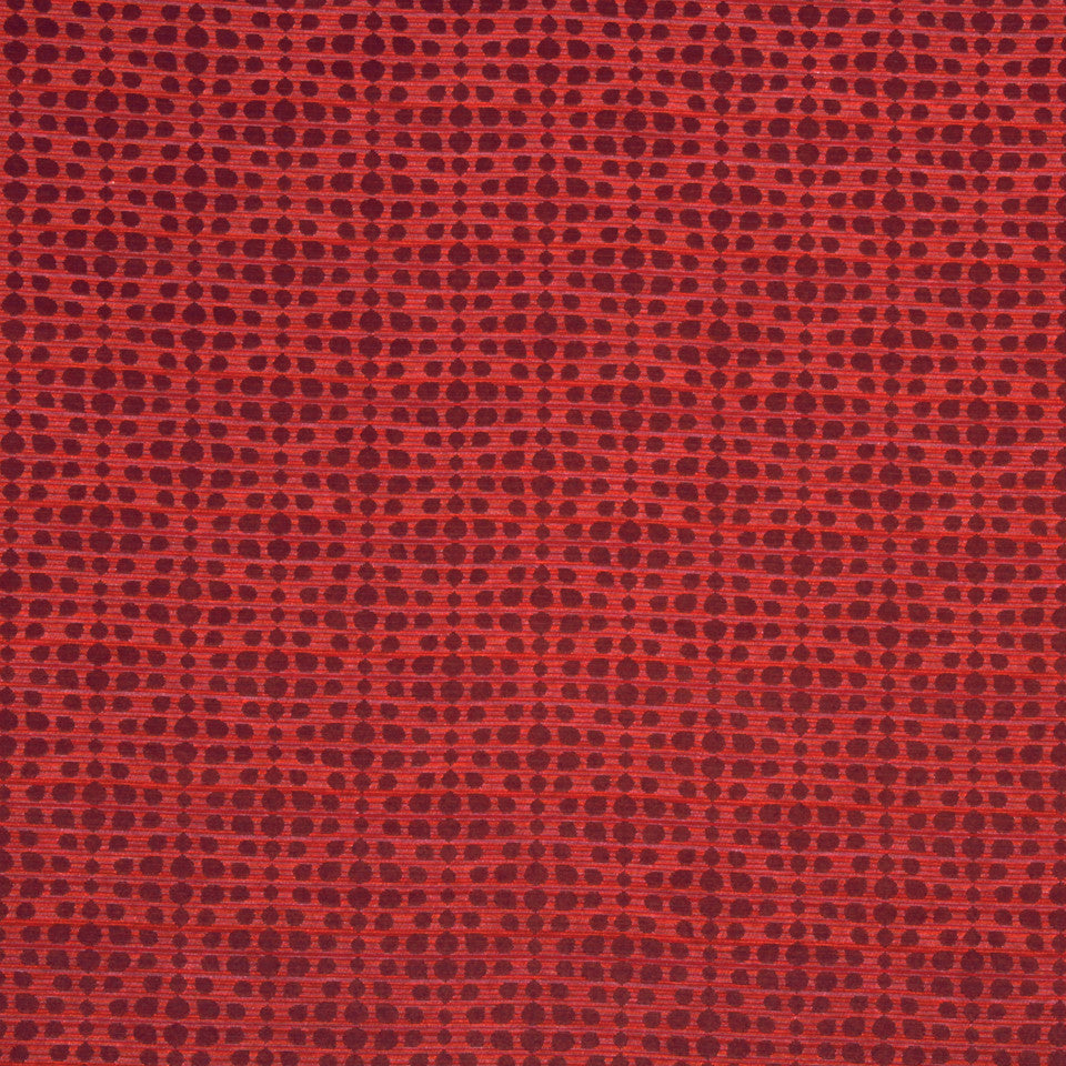 NANO-TEX + DURABLOCK Pebble Stitch Fabric - Merlot