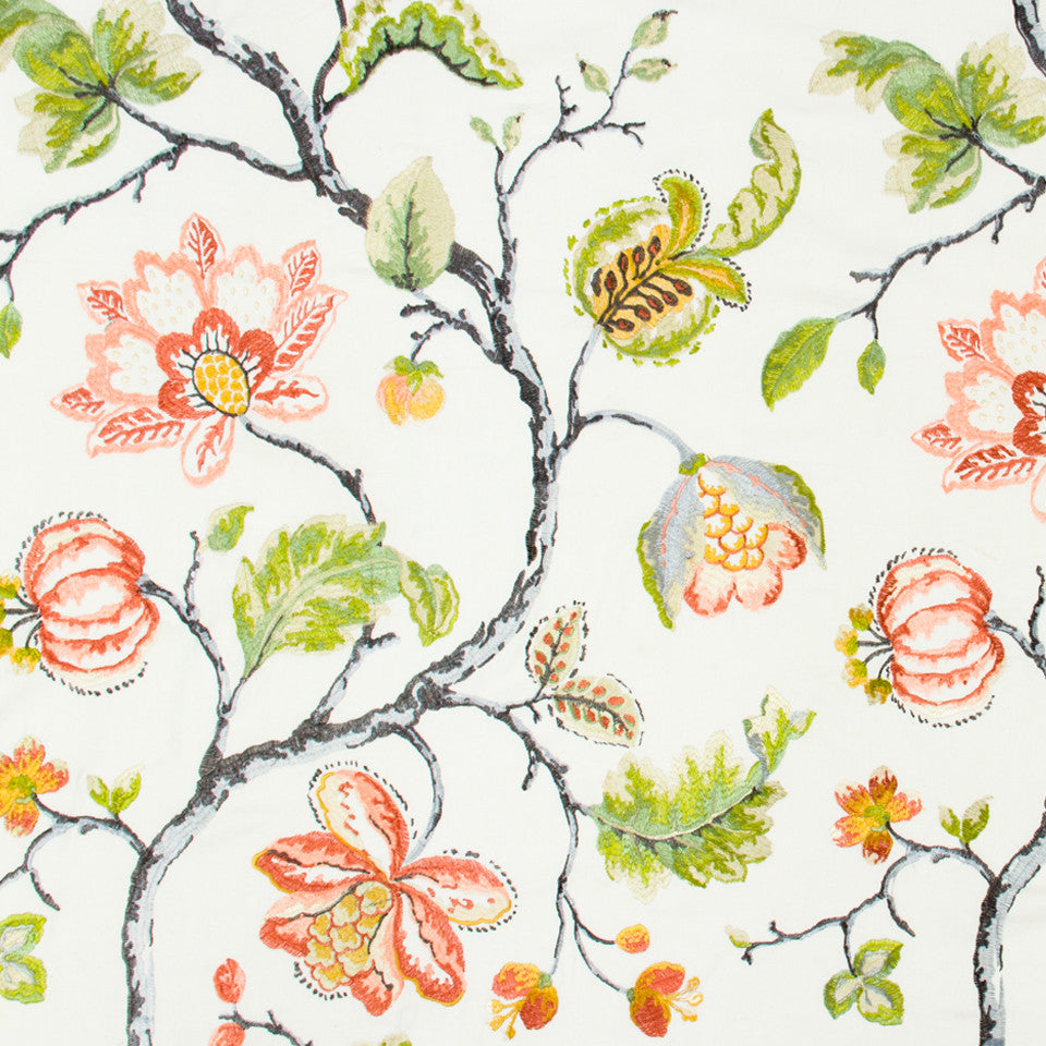 DEW Bloom City Fabric - Dew