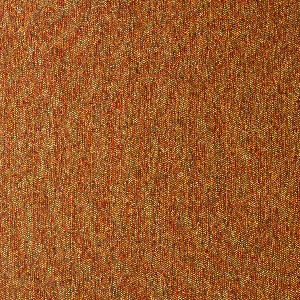 NANO-TEX + DURABLOCK Chevron Boucle Fabric - Copper