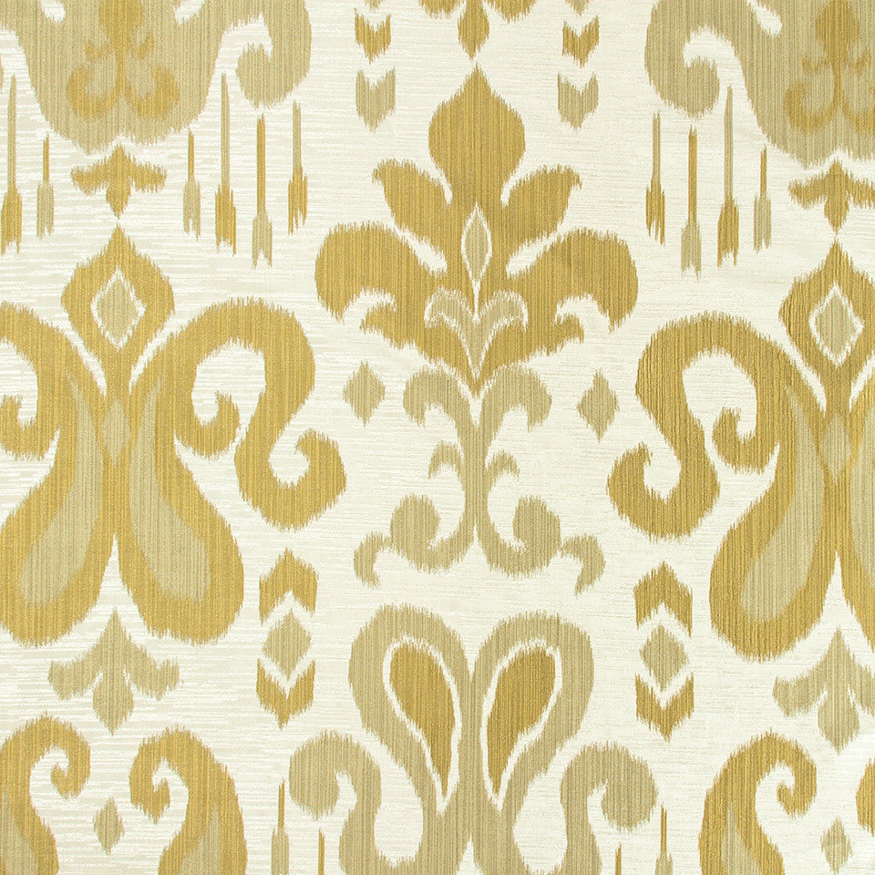 GOLD LEAF Avadi Shine Fabric - Gold Leaf