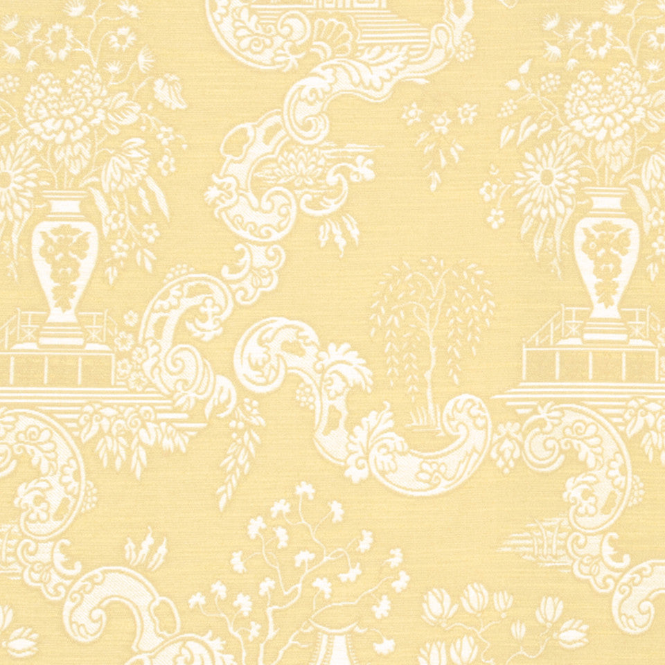 GOLD LEAF Big Spring Fabric - Gold Leaf