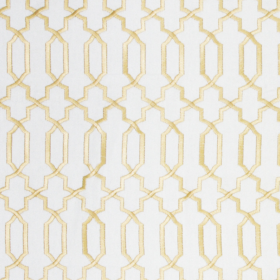 GOLD LEAF Kyle James Fabric - Gold Leaf