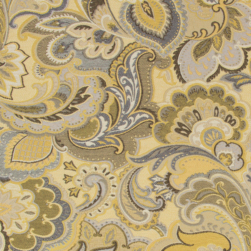 GOLD LEAF Vintage Look Fabric - Gold Leaf