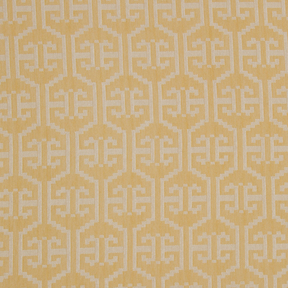 GOLD LEAF Snake Range Fabric - Gold Leaf