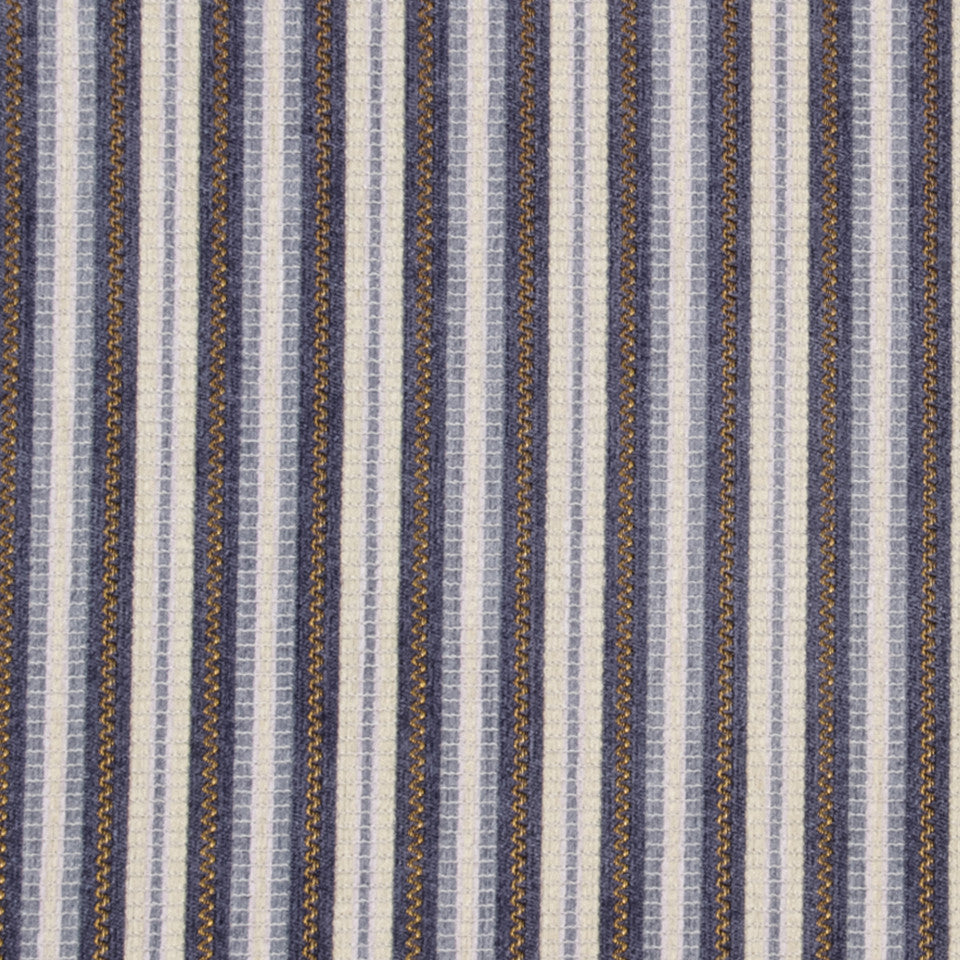 IRIS Avenue Stripe Fabric - Iris