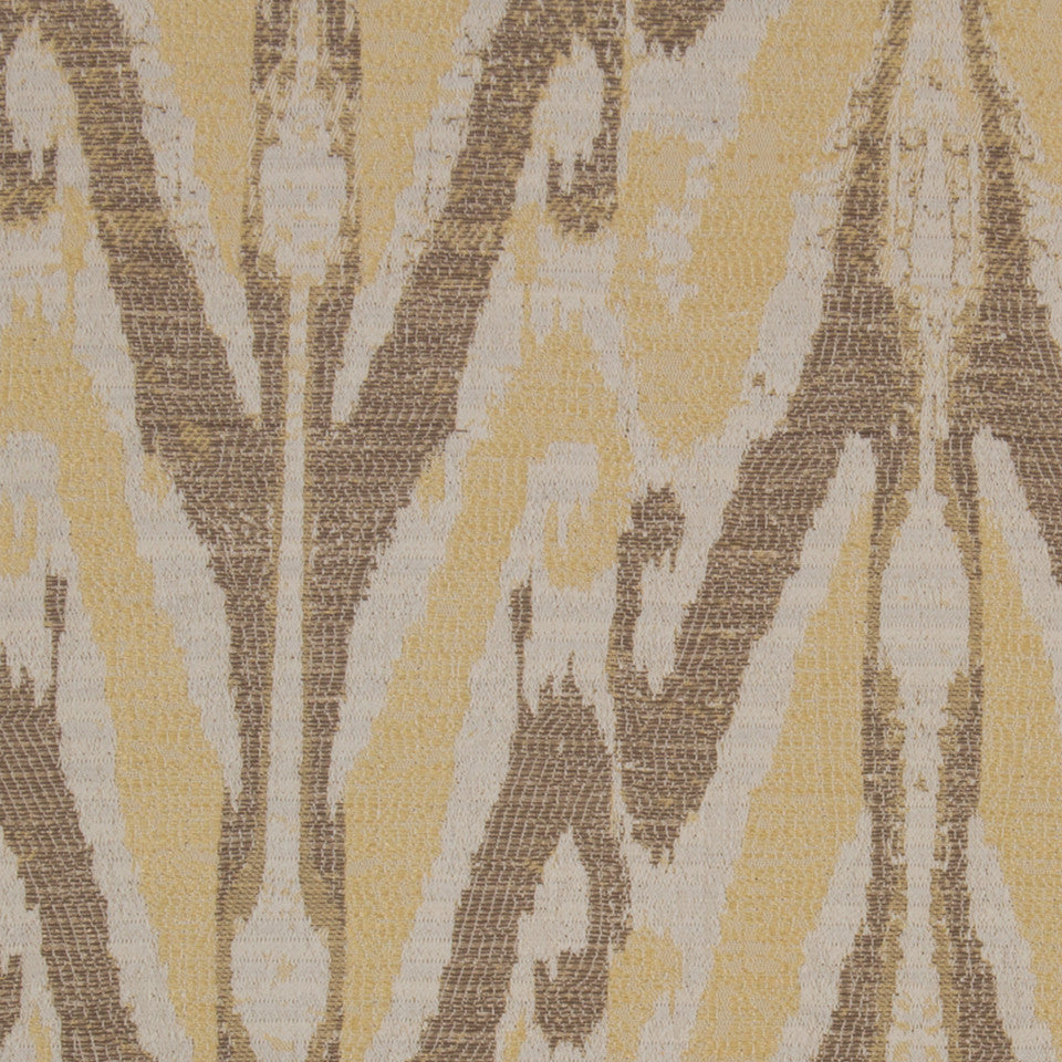 GOLD LEAF Icefall Fabric - Gold Leaf