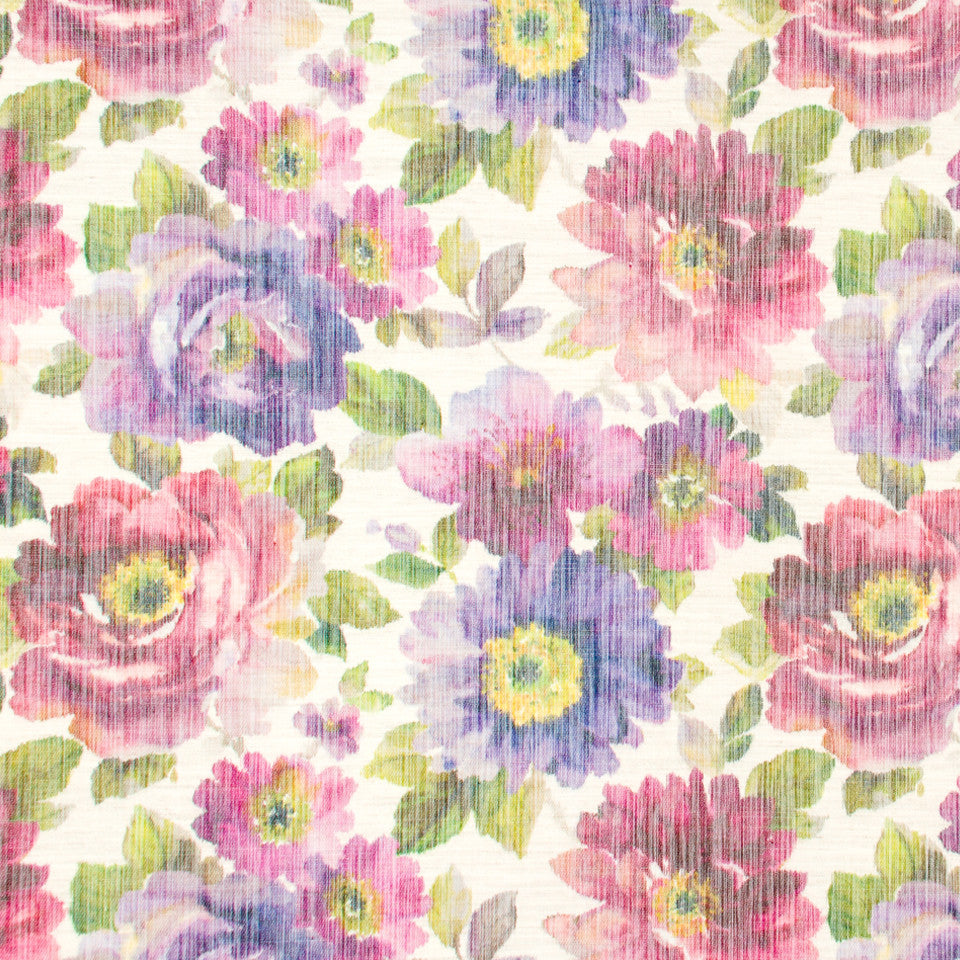 DEW Misty Floral Fabric - Dew
