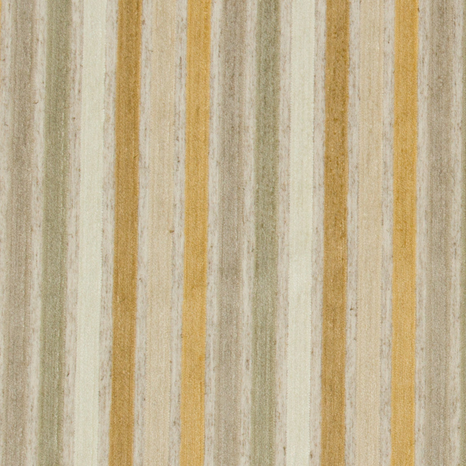GOLD LEAF Kara Stripe Fabric - Gold Leaf