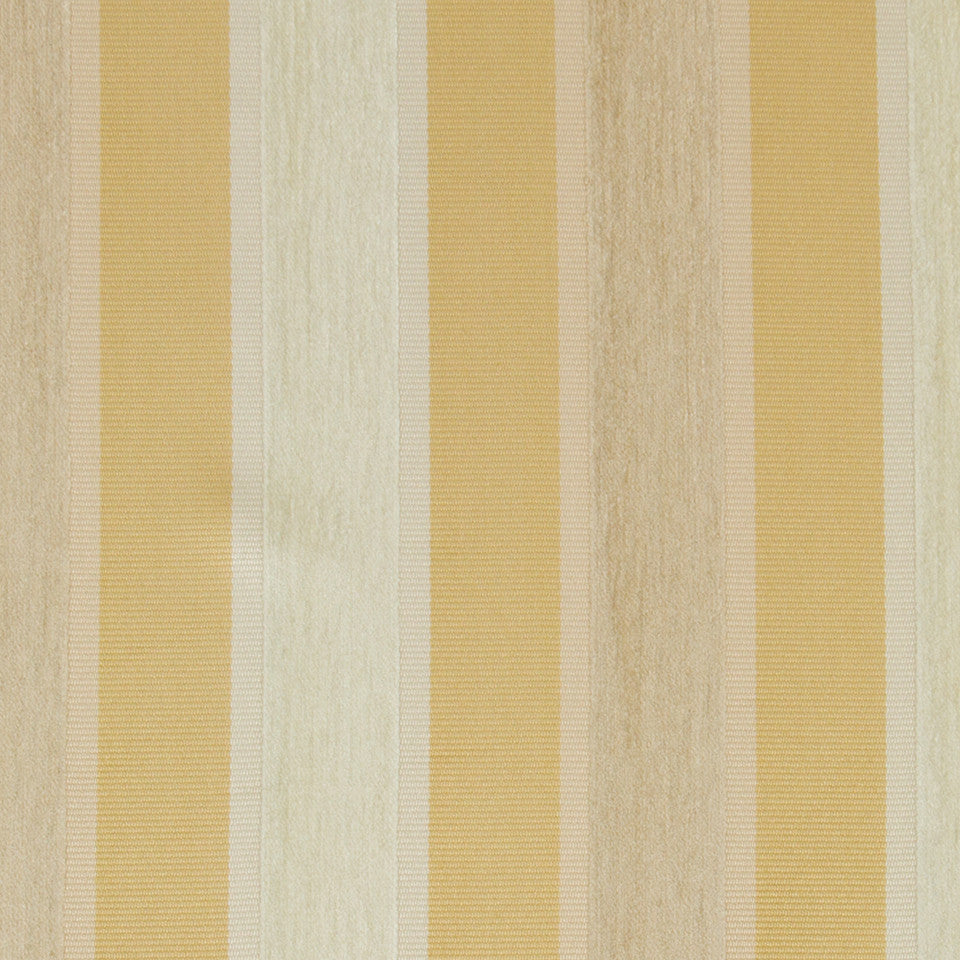 GOLD LEAF High Lo Stripe Fabric - Gold Leaf