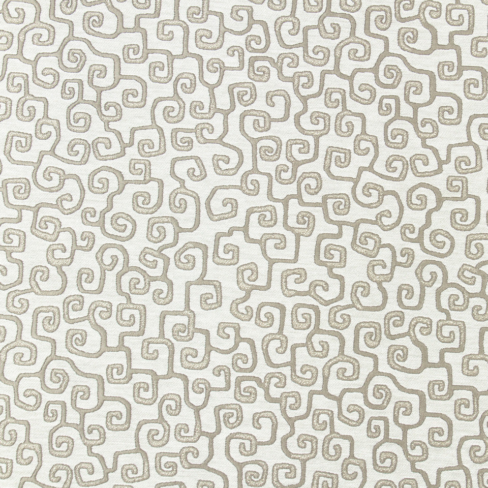 ZINC Myers Journey Fabric - Zinc