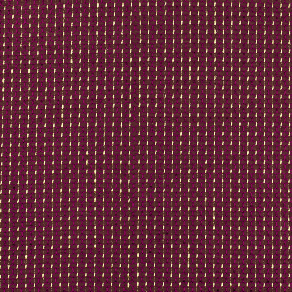 SILK JACQUARDS & EMBROIDERIES II Mari Link Fabric - Magenta