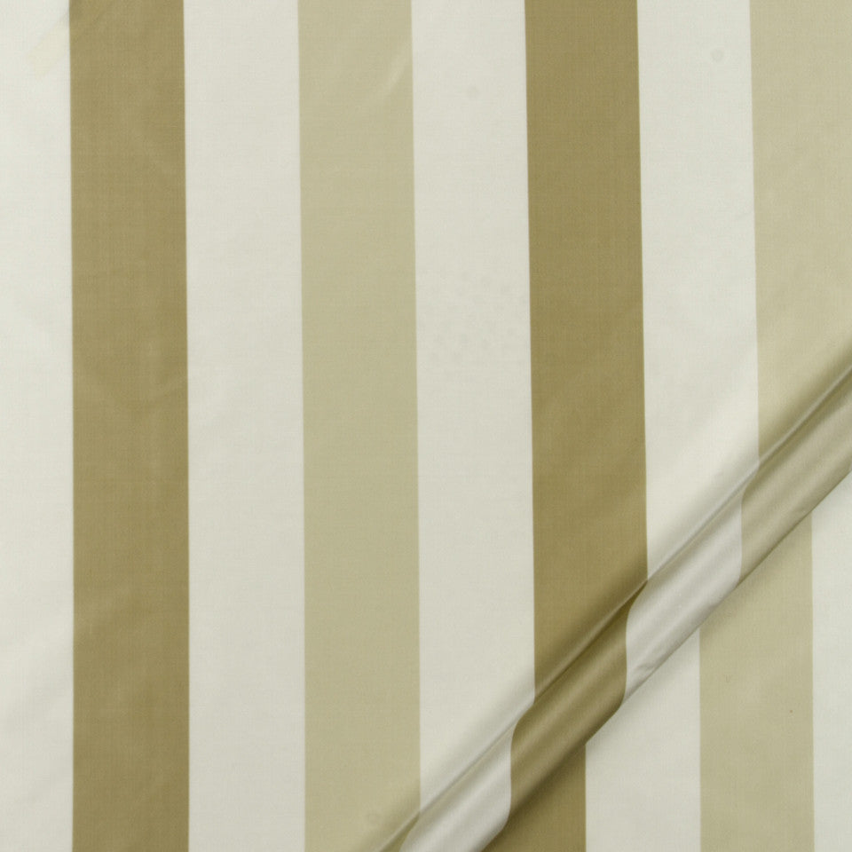 SILK STRIPES & PLAIDS Sakura Stripe Fabric - Ivory