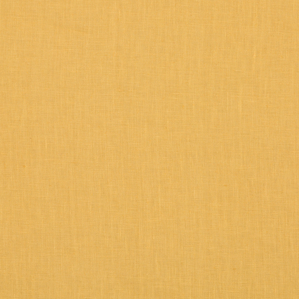 DRAPEABLE LINEN Milan Solid Fabric - Golden