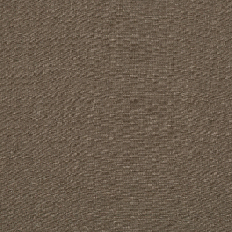 DRAPEABLE LINEN Milan Solid Fabric - Mocha