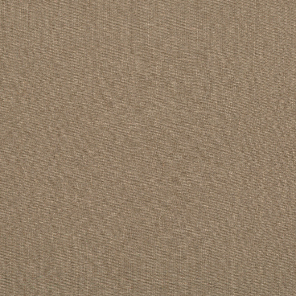 DRAPEABLE LINEN Milan Solid Fabric - Brindle