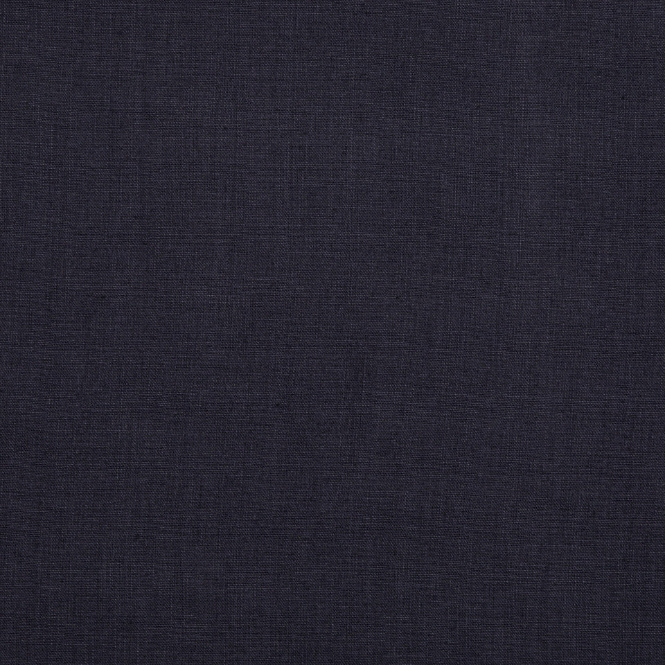 DRAPEABLE LINEN Milan Solid Fabric - Navy Blazer
