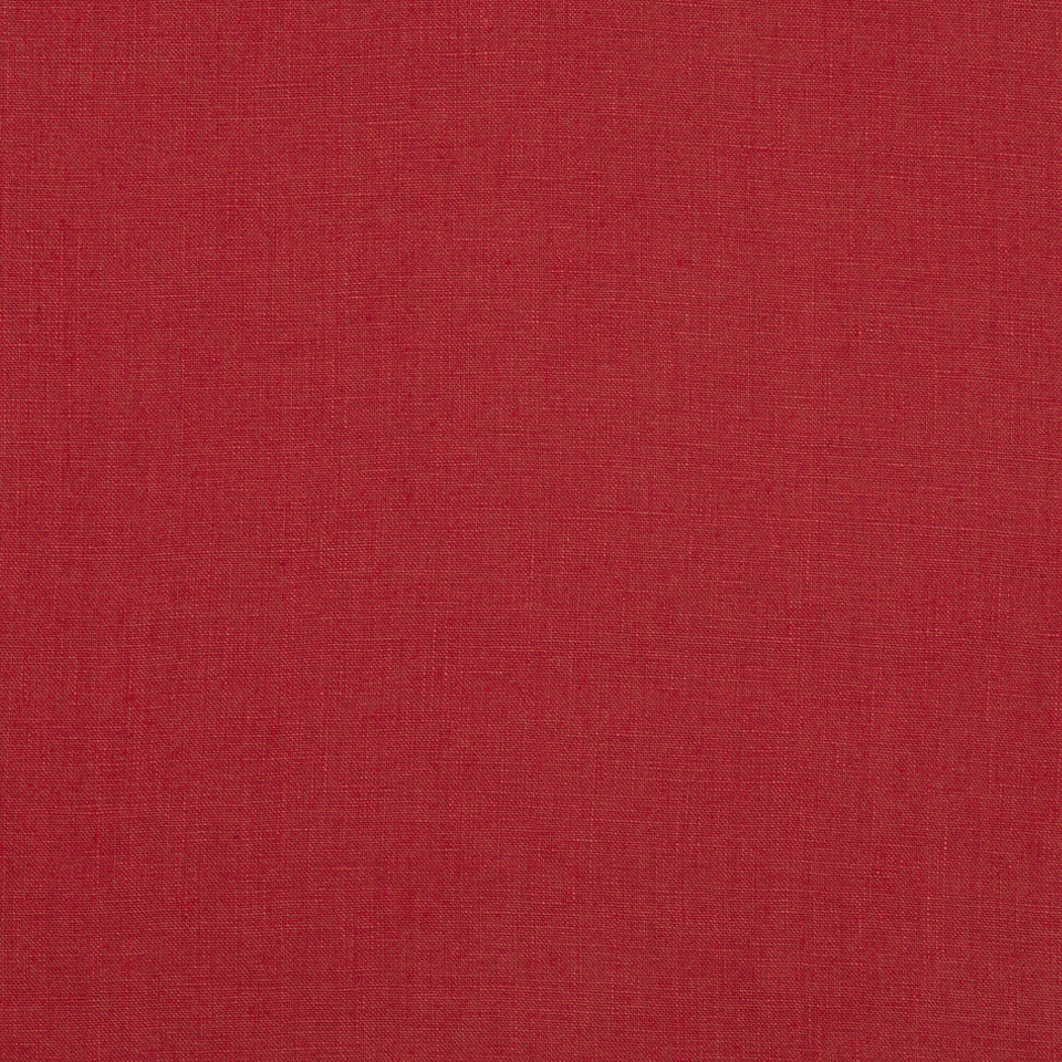 DRAPEABLE LINEN Milan Solid Fabric - Lacquer Red