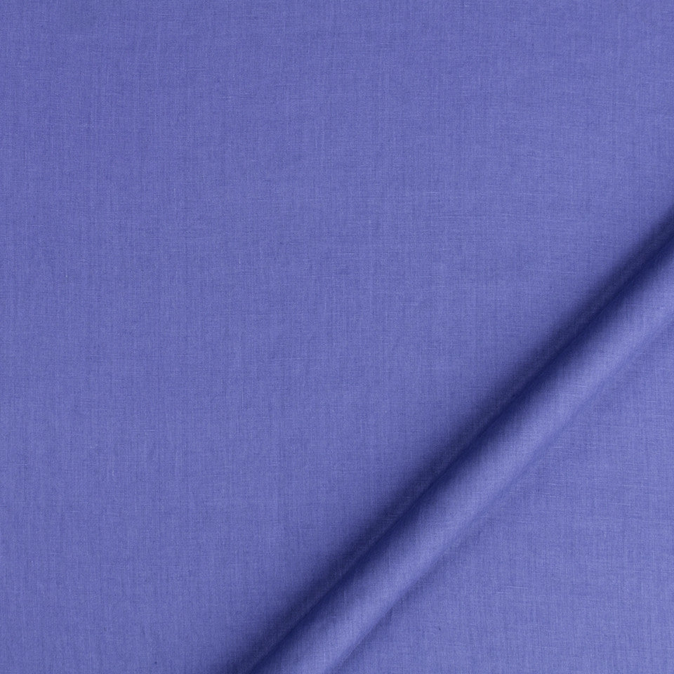 DRAPEABLE LINEN Milan Solid Fabric - Bluebell