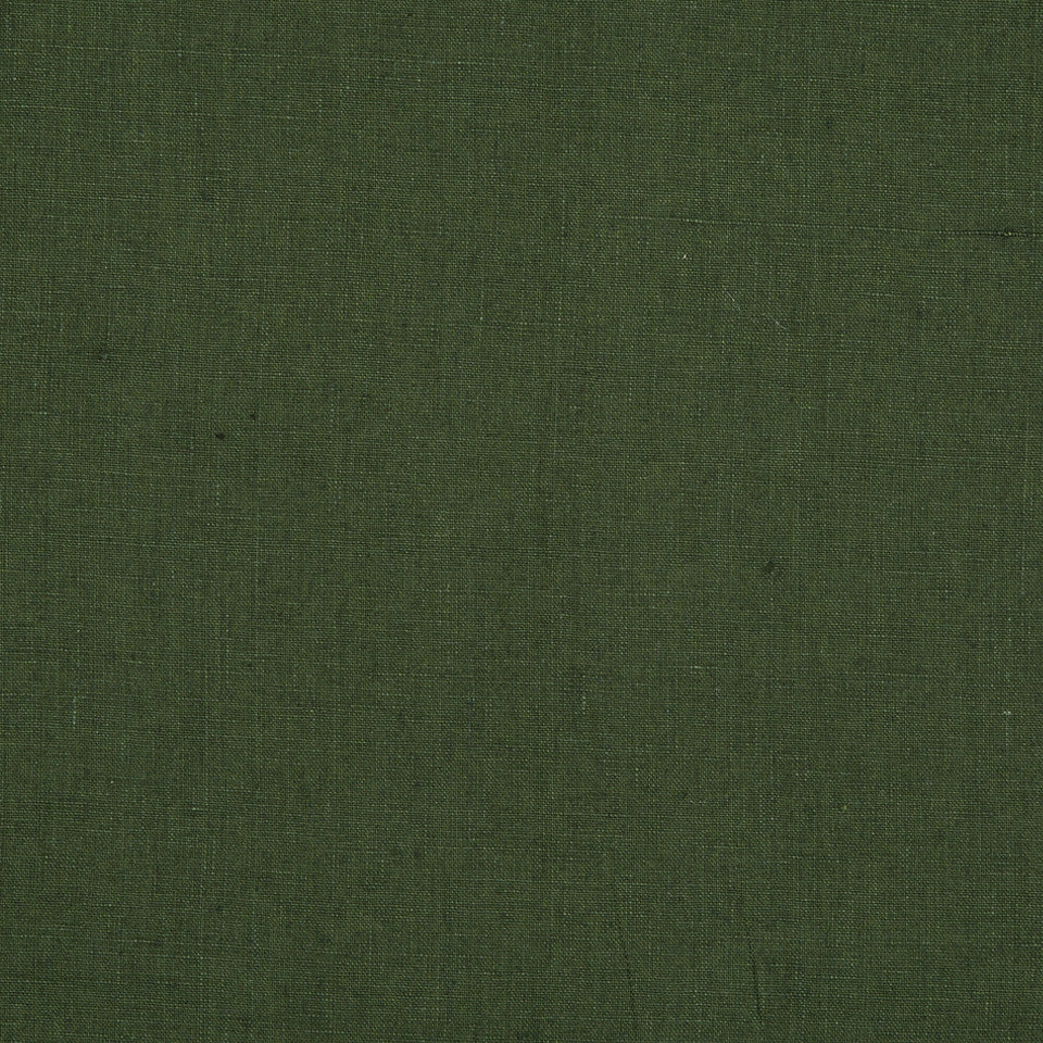 DRAPEABLE LINEN Milan Solid Fabric - Forest