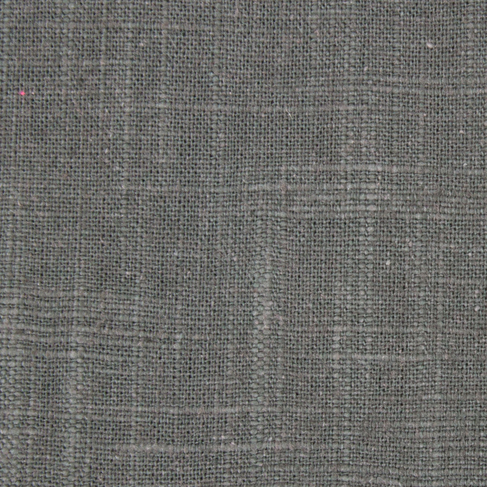Slubbed Weave Fabric - Charcoal