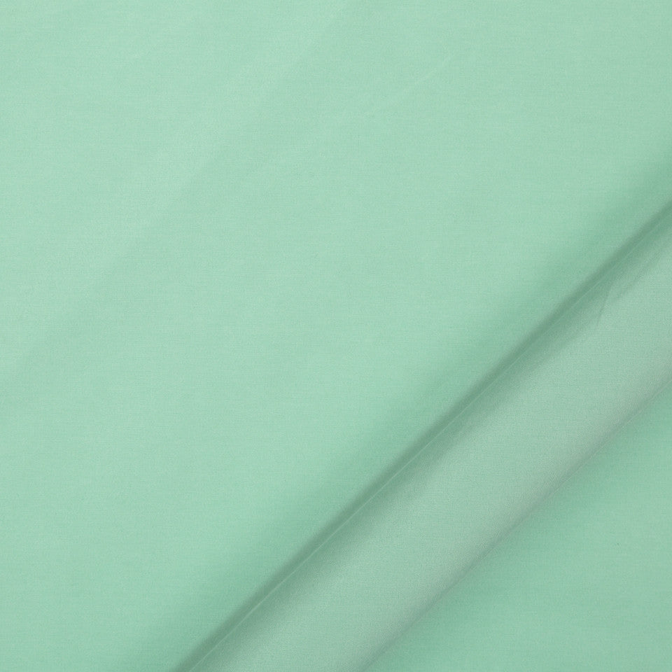 DRAPEABLE SILK LOOKS Vinetta Fabric - Seaglass