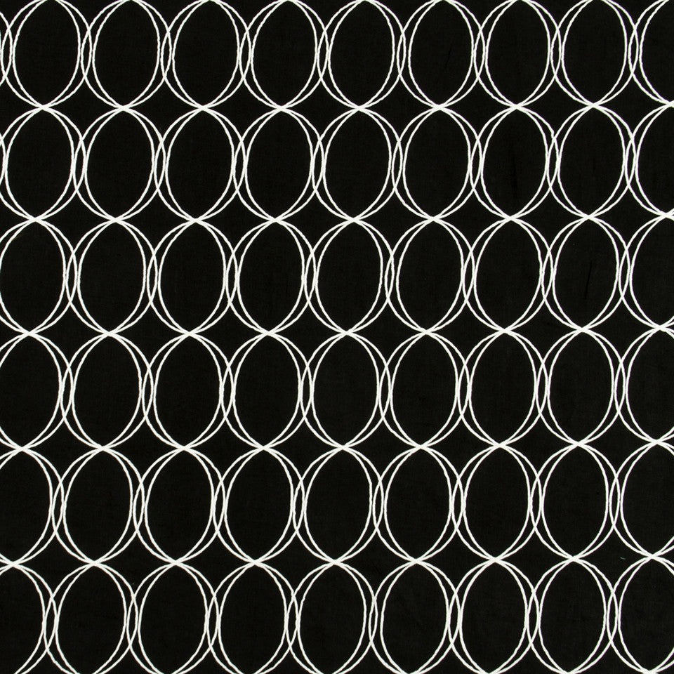 ZINC-CITRINE-CHALKBOARD Out Of Bounds Fabric - Chalkboard