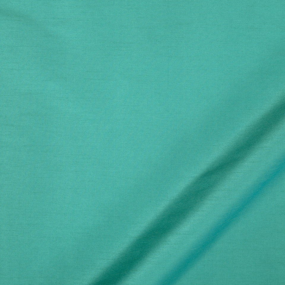 DRAPEABLE SILK LOOKS Tramore II Fabric - Viridian