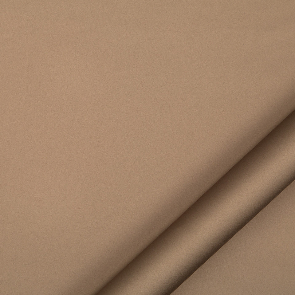 DRAPEABLE SILK LOOKS Treasure Beach Fabric - Chocolate