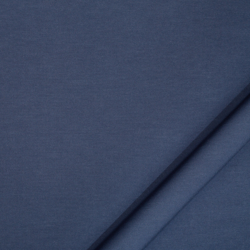 DRAPEABLE COTTON Nova Fabric - Indigo