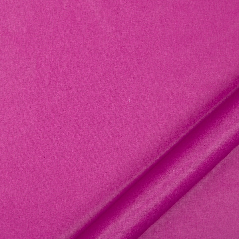 DRAPEABLE COTTON Lustre Sheen Fabric - Fuchsia