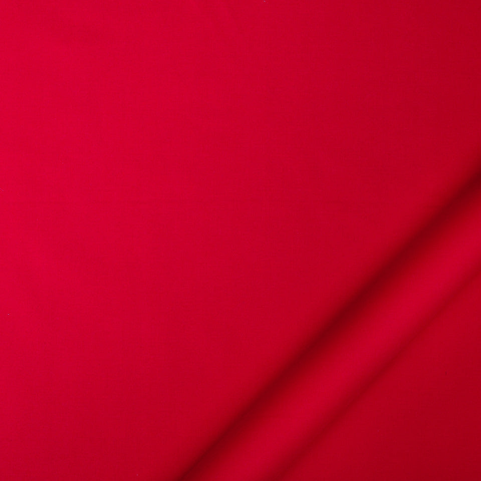 DRAPEABLE COTTON Lustre Sheen Fabric - Lacquer Red
