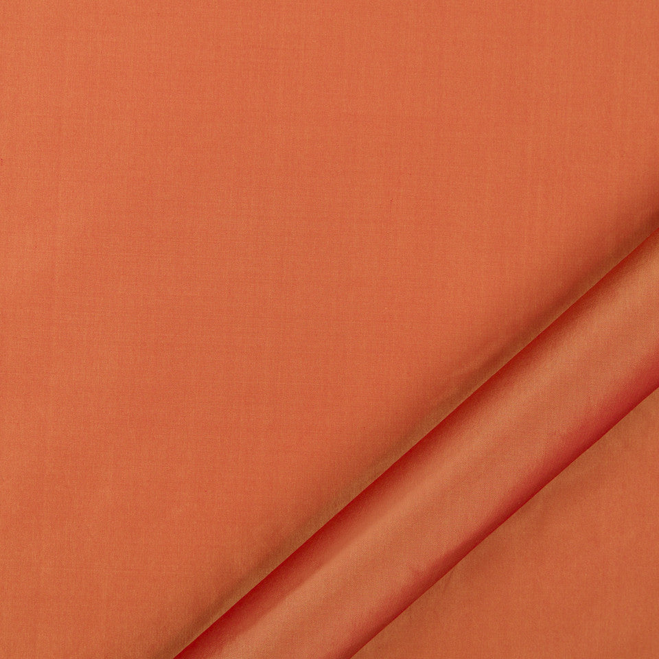 DRAPEABLE SILK Kerala Fabric - Saffron
