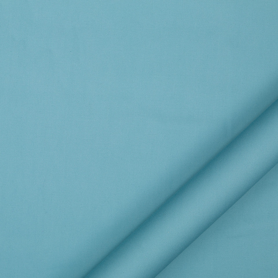 DRAPEABLE COTTON Lustre Sheen Fabric - Turquoise