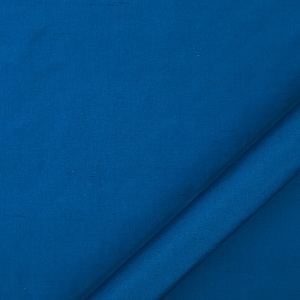 DRAPEABLE SILK Allepey Fabric - Cobalt