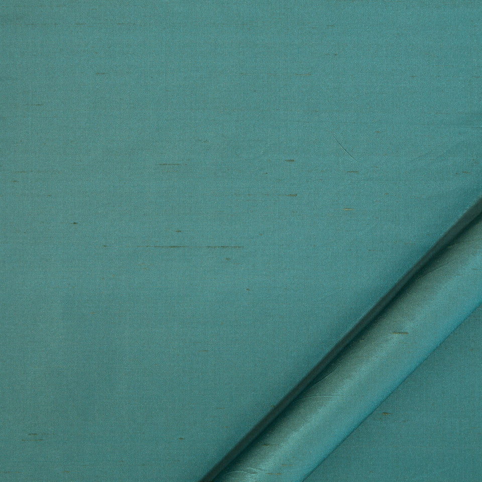 DRAPEABLE SILK Allepey Fabric - Cove