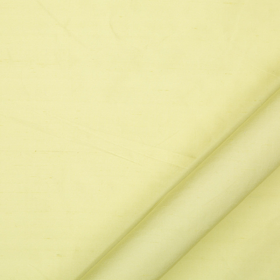 DRAPEABLE SILK Allepey Fabric - Lemongrass