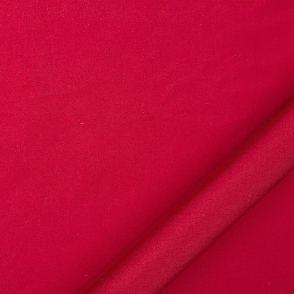 DRAPEABLE SILK Allepey Fabric - Red Hot