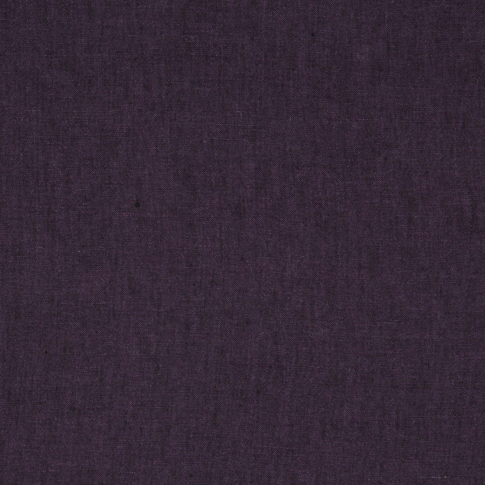 DRAPEABLE LINEN Haileys Path Fabric - Eggplant
