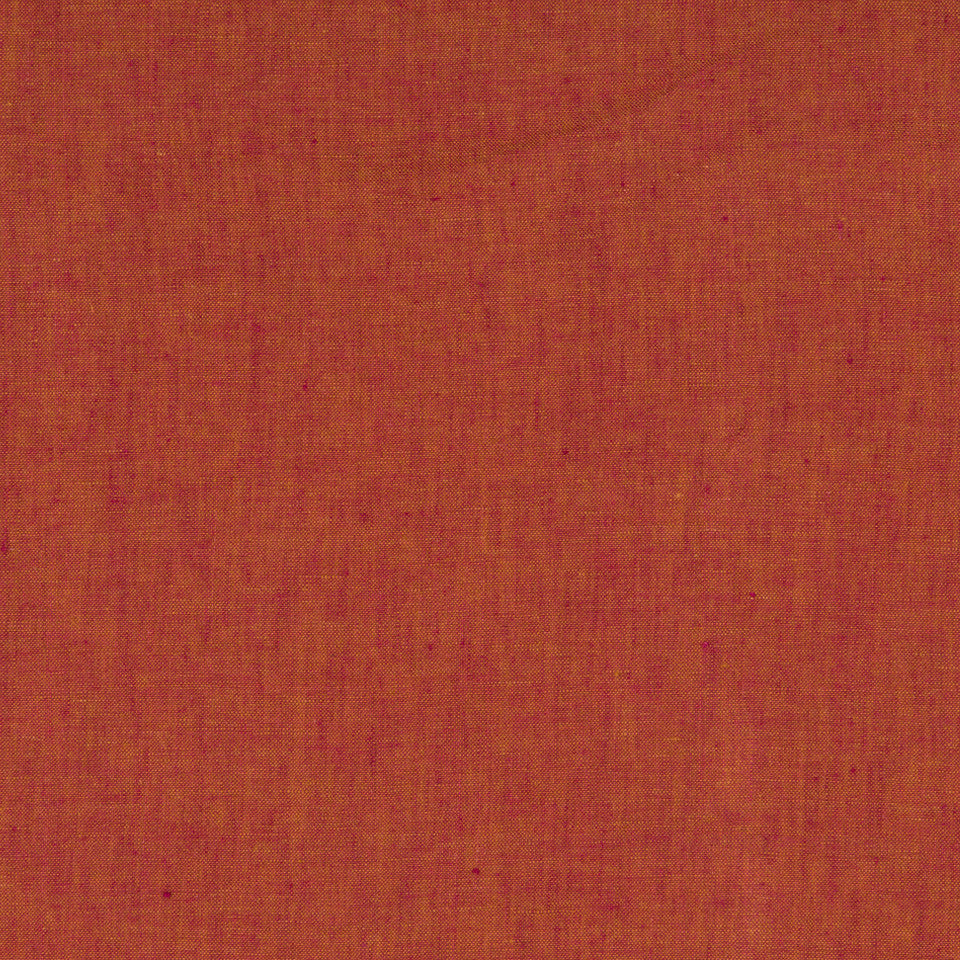 DRAPEABLE LINEN Haileys Path Fabric - Red Earth