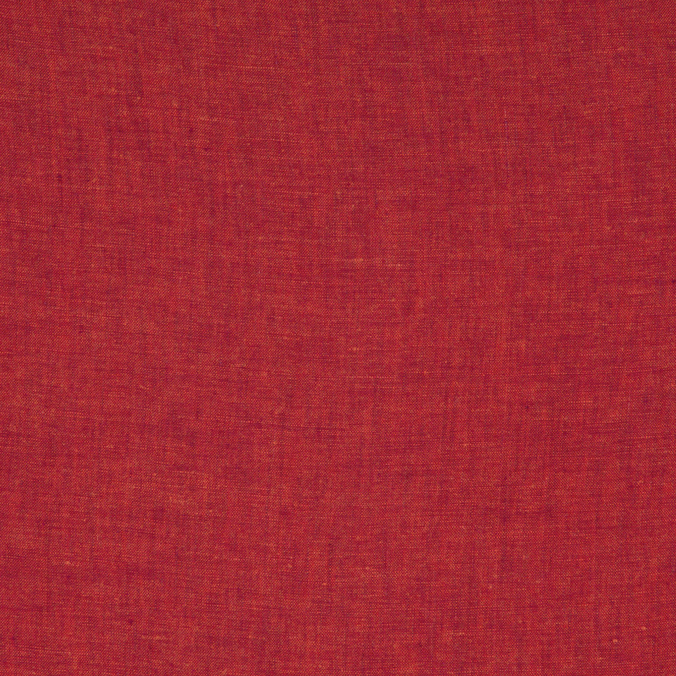 DRAPEABLE LINEN Haileys Path Fabric - Lacquer Red