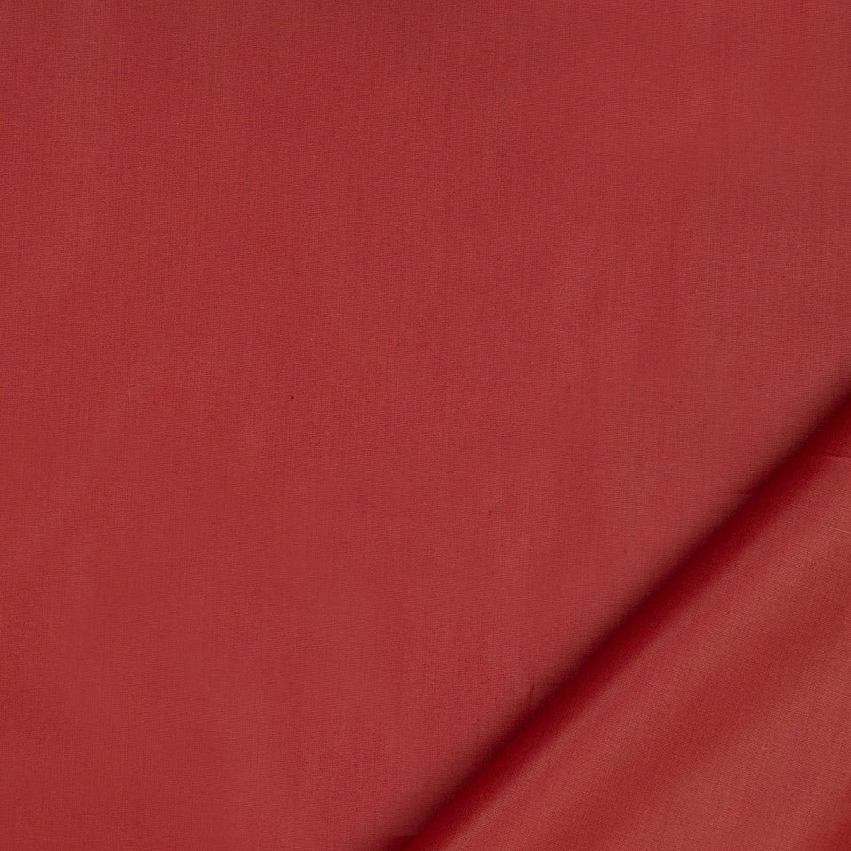 DRAPEABLE COTTON Ultima Fabric - Red Earth