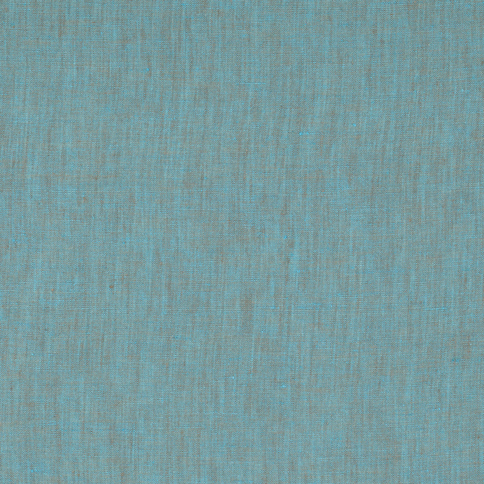 DRAPEABLE LINEN Haileys Path Fabric - Turquoise