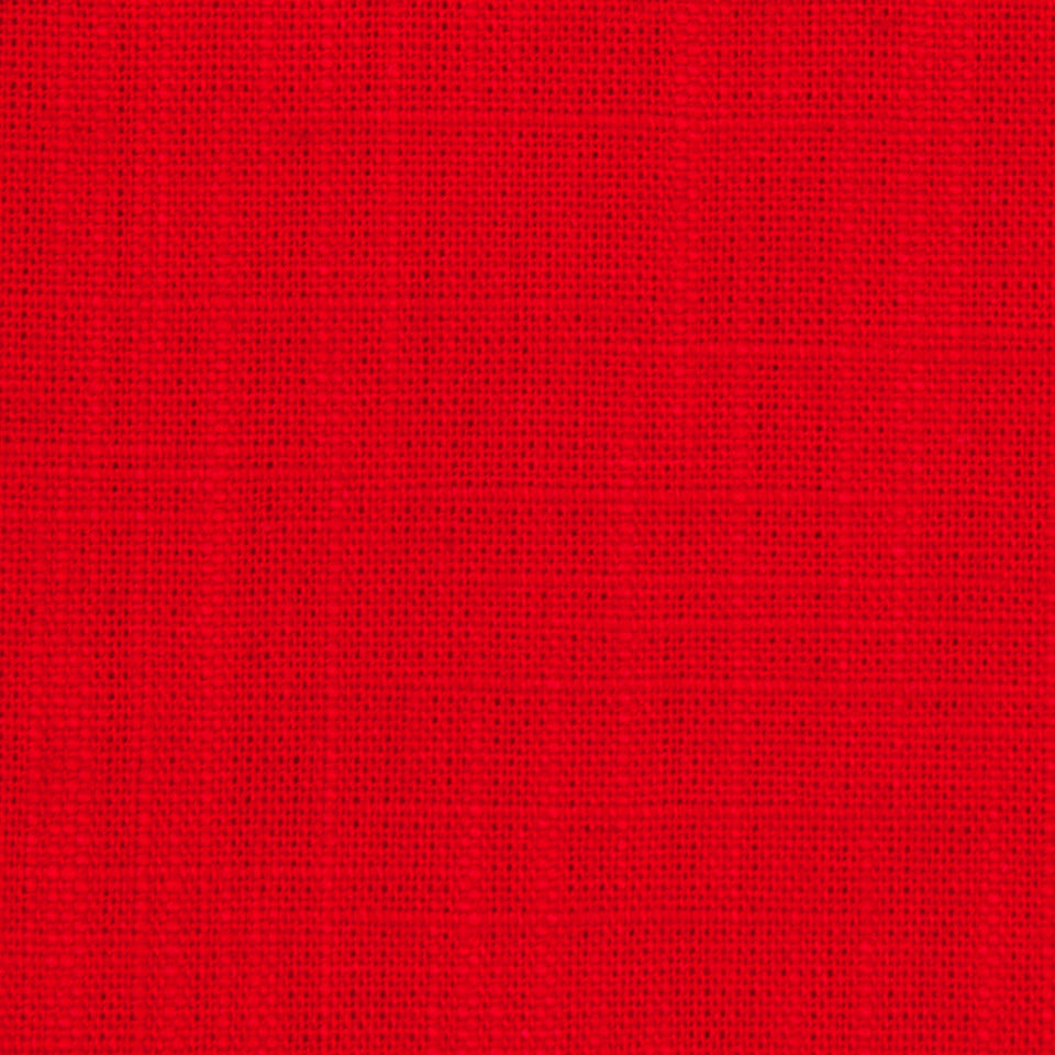 Slubbed Weave Fabric - Red Lacquer