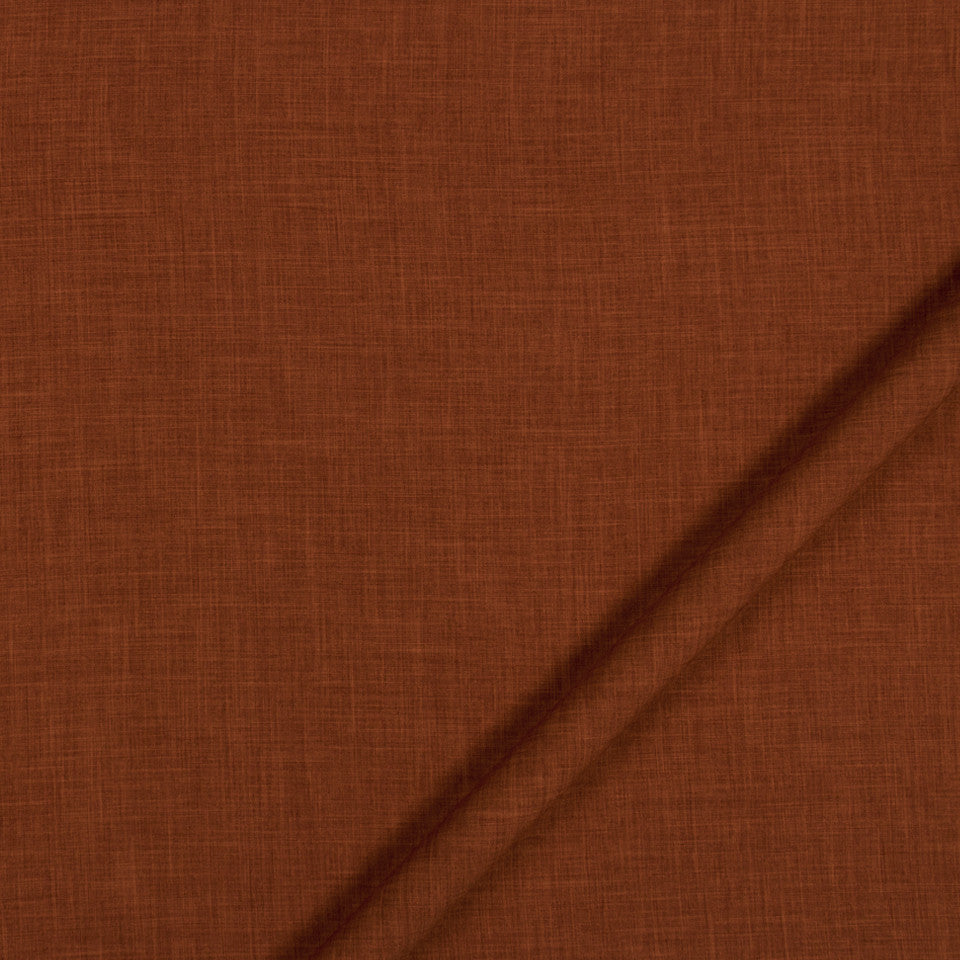NATURAL TEXTURES Desert Hill Fabric - Red Hot