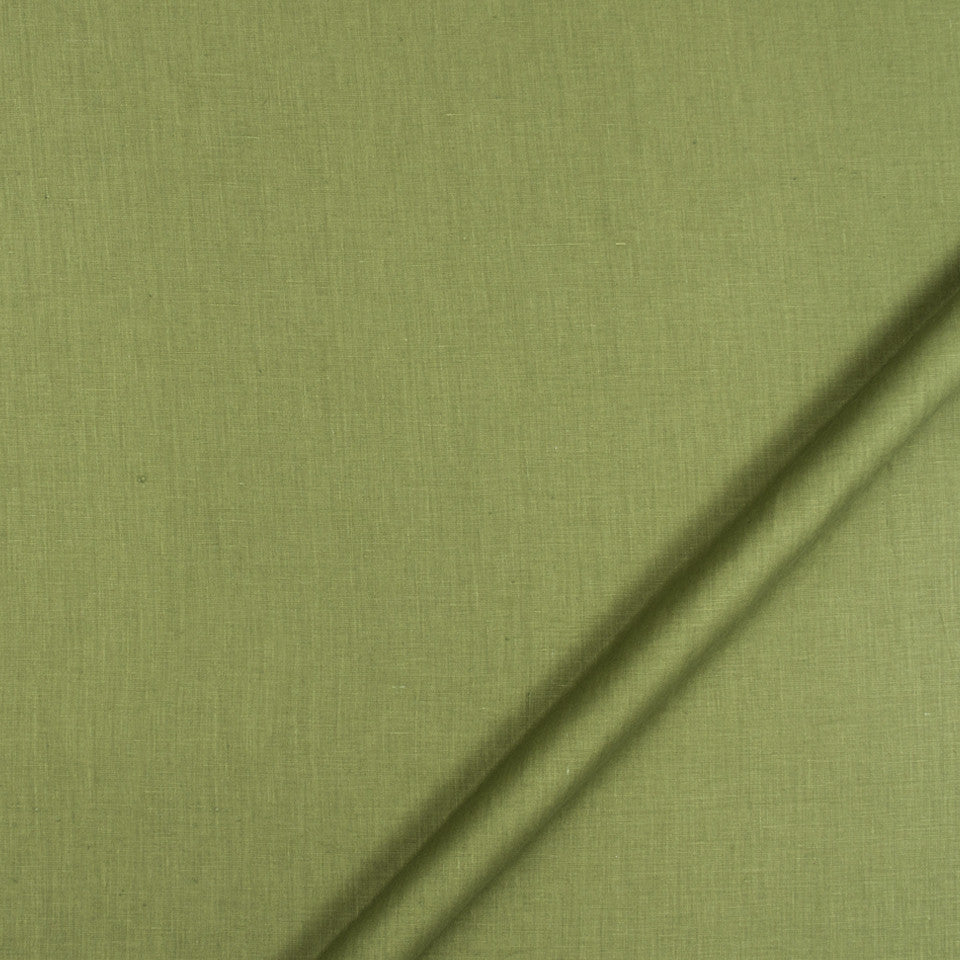 DRAPEABLE LINEN Kilrush II Fabric - Grass
