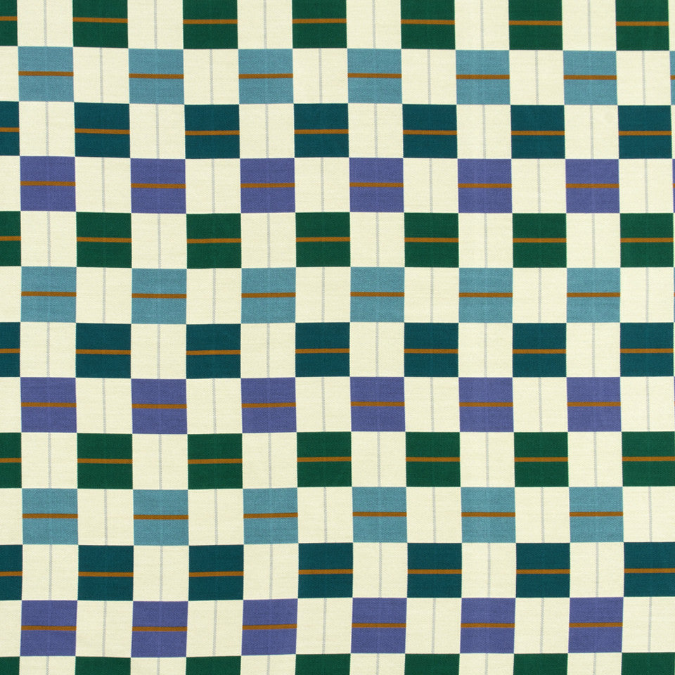 MALACHITE-ROYAL PURPLE-SLATE Lawn Chair Fabric - Malachite